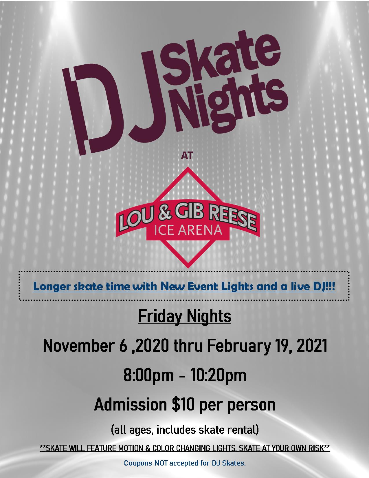 Friday Night DJ Skate